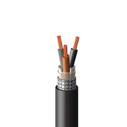 An image of Shawcor's IEC Armored Power & Control Multi-conductor Cable