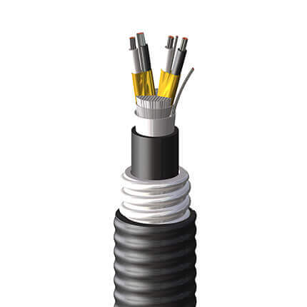 An image of Shawcor's UL PLTC Instrumentation Cable