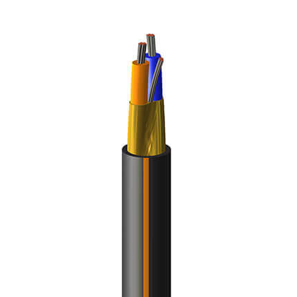 An image of Shawcor's UL PLTC Fieldbus/Profibus PA Cable