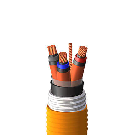 An image of Shawcor's CSA Teck 90 Power Multi-Conductor Cable