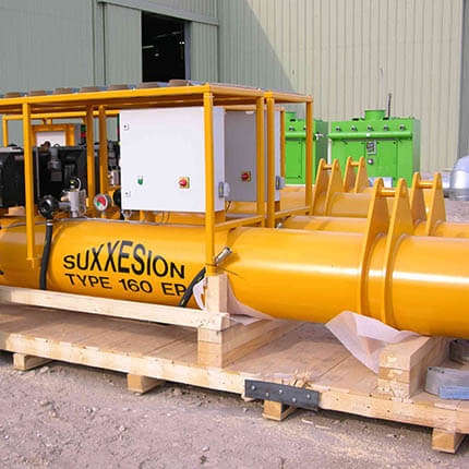 A product preview image for Shawcor's Pipe Vacuum Lifts and Spreader Bars