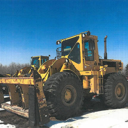 A product preview image for Shawcor's Caterpillar 966C Front End Loader
